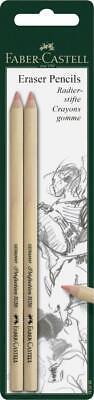 Pack Of 2 Faber Castell Eraser Pencils 185698