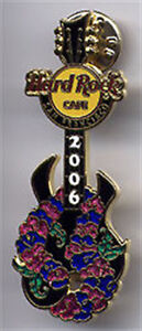 Hard-Rock-Cafe-SAN-FRANCISCO-2006-Aloha-Festival-GUITAR-PIN