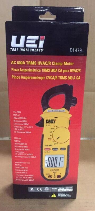 UEi AC 600A TRUE RMS HVAC/R CLAMP METER DL479
