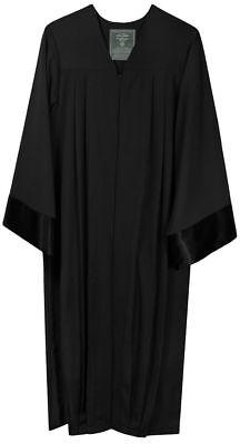 Robe schwarz Amtstracht Richter Anwalt Professor Jurist Talar - Schwarze Richter Robe Kostüm