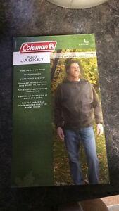 Coleman bug jacket size large