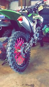Kx250f. 2009 new top end.  With ownership