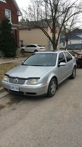 2001 vw Jetta tdi diesel trade for street bike
