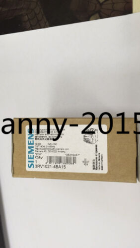 1pc New Siemens  3rv1021-4ba15