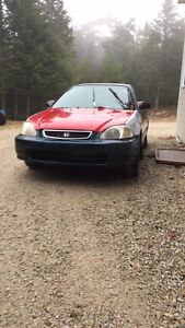 2000 civic ex parts car