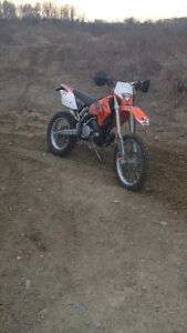 2006 Ktm xcw 300 two stroke trade for AF cr 500
