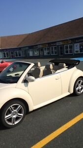 Beetle convertible mint condition!