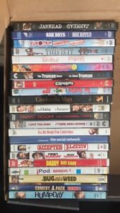 DVDs for sale: 3 for $5 or 7 for $10!