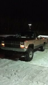 1986 Chevy and 2013 assault