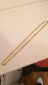18K GoldFilled Rope Chain