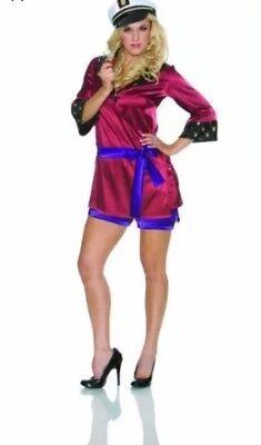 Playboy Hefner Kostüm (Playboy Mansion Hefner His & Hers Costume - Mansion Mistress - Medium)