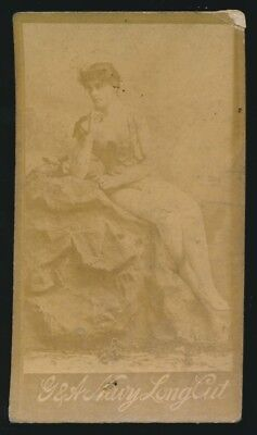 1890 N150 Gail & Ax Navy Long Cut ACTRESSES -Woman seated for sale  Meridian