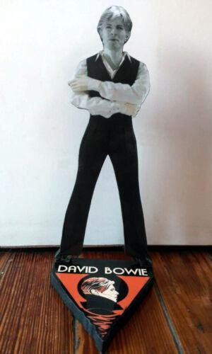 DAVID BOWIE - FIGURE Thin Black White - Mdf viniyl/plot 22 cm - Argentina