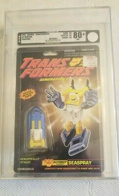 Transformers Generation 2 Seaspray (Hasbro 1992) AFA 80+ 80/85/90
