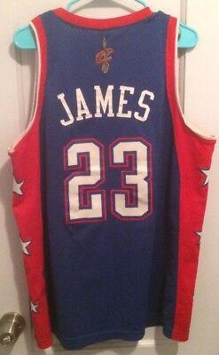 2519ca7ca706 LeBron James 2004 NBA All Star Game Jersey Men L Nike  23 King Rare Cavs  Lakers