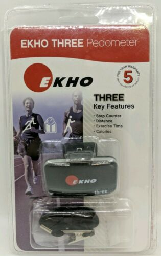 Ekho Three 5 Accelerometer/Pedometer Brand New Sealed in Fac