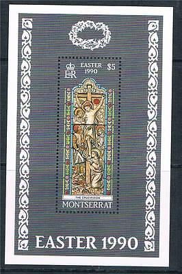 Montserrat 1990 Easter MS SG 817 MNH