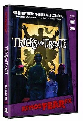 AtmosFEARfx Trick and Treats Halloween Digital Decorations DVD