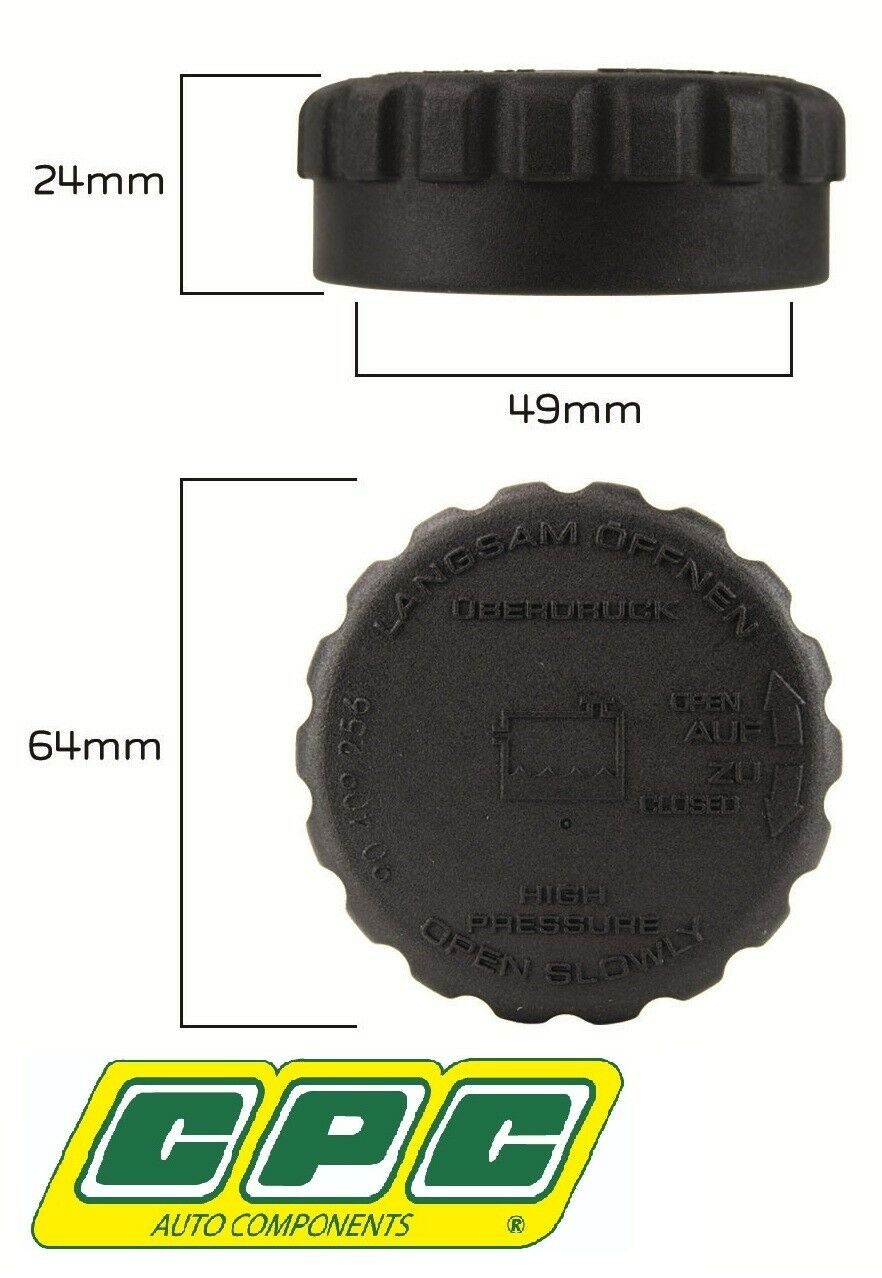 CPC RADIATOR CAP FOR HOLDEN COMMODORE VU ECOTEC L36 3.8L V6