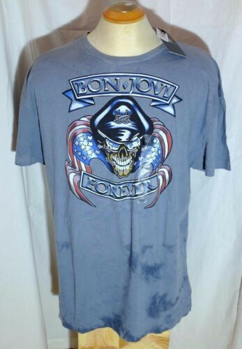 NWT Rock & Republic Bon Jovi Forever Charcoal T-Shirt Size 2XL XXL 2016
