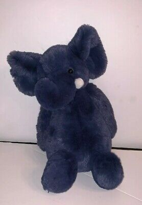 Blue Elephant Stuffed Animal (Jellycat Bashful Blue Elephant  Medium 12