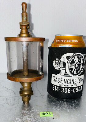 American Injector 4 Brass Oiler Hit Miss Gas Engine Antique Ihc Style