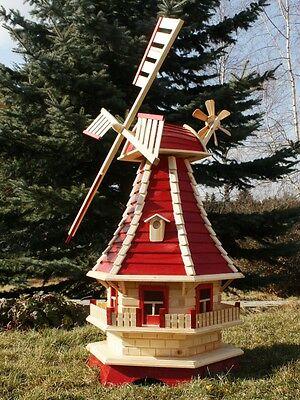 Große Windmühle Windmühlen mit Solarbeleuchtung Typ 3.1