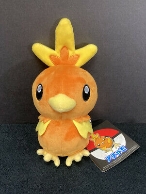 "Pokemon Center Torchic 8"" Plush Stuffed 2017"