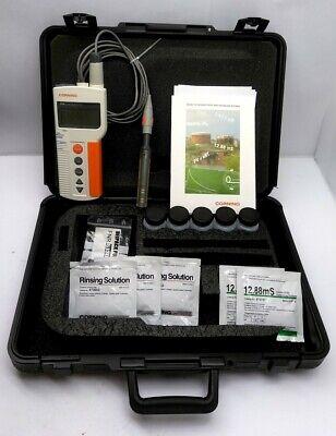Corning 316 Conductivity Meter W Case Probe Manual Range 0.00-199.8ms