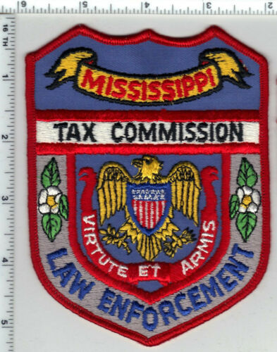 Tax Commission (Mississippi) Law Enforcement Shoulder Patch from the 1980