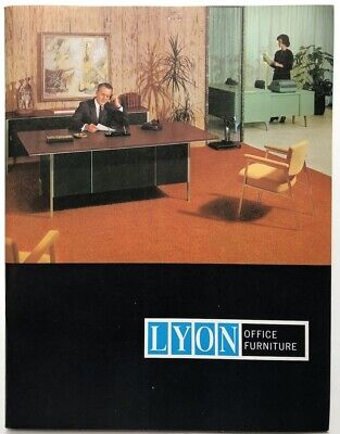1966 Lyon Office Furniture Catalog for sale  Shipping to India