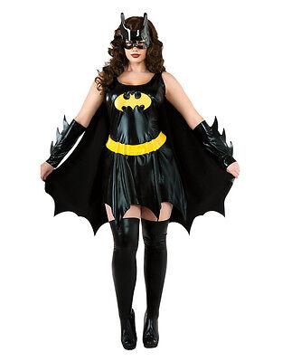 Batgirl Womens Costume, Plus,(USA 14 - 16), BUST - Batgirl Kostüme Plus