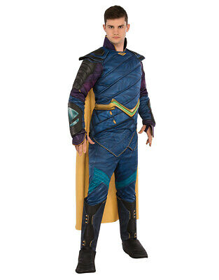 "Mens Loki Muscle Chest Deluxe Costume XL Chest 44-46"" Waist 36-40"" Leg 33"""