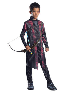 "Hawkeye Kids Avengers Age Of Ultron Costume,Lrg,Age 8-10,HEIGHT 4' 8"" - 5'"