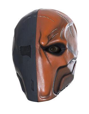 Deathstroke Full Costume (Deathstroke Full Overhead Latex Mask, Mens Arkham City Costume)