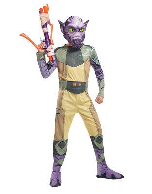 "Rebels Garazeb Zeb Orrelios Kids Costume,Medium, Age 5-7 yrs,HEIGHT 4' 2""-4' - Zeb Orrelios Kostüm"