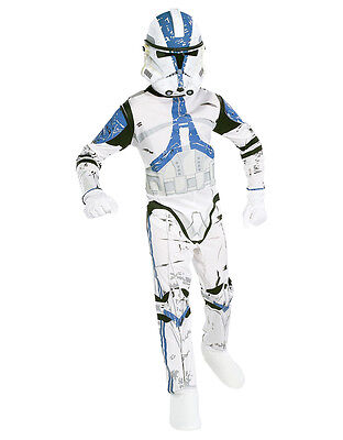 """Star Wars Kids Clone Trooper Costume Style 1, Large, Age 8-10, HEIGHT 4' 8"""" - 5' - Darth Vader Princess Costume"""