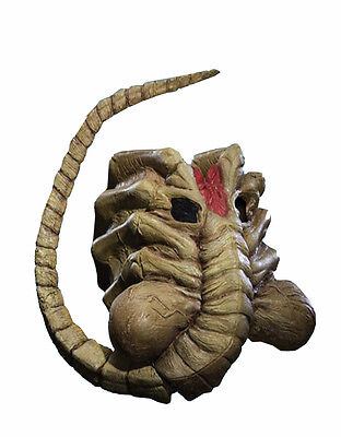 Alien v Predator Costume Accessory, Mens Alien Face Hugger Mask