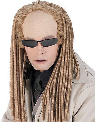Matrix Reloaded Costume Accessory, Mens Twins Albino - Matrix Kostüm