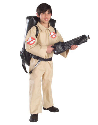 Ghostbusters Costume, Kids Outfit Style 1, Large, Age 8 - 10, HEIGHT 4' 8