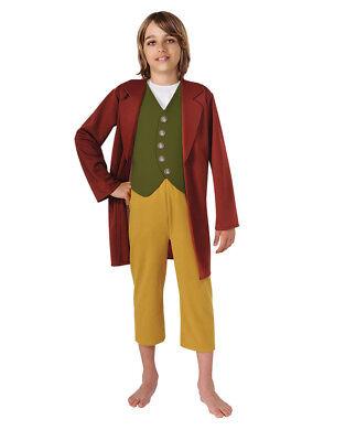 Hobbit Costume, Kids Bilbo Baggins Costume, Large, Age 8 - 10, HEIGHT 4' 8