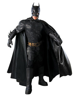 Dark Knight Rises Batman Collectors Costume,L, CHEST 42-44