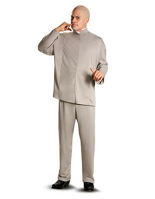"Dr. Evil Mens Costume,XL,CHEST 42-46"",WAIST 38-42"",INSEAM 32"",HEIGHT 5'9""-5'11"""