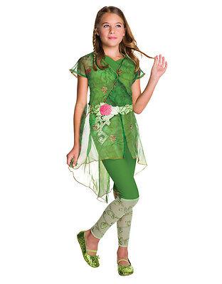 "Poison Ivy Deluxe, Kids DC Girls Costume,Medium,Age 5-7,HEIGHT 4' 2"" - 4' 6""](Poison Ivy Kids Costume)"