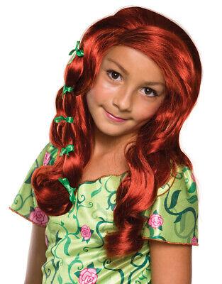 Poison Ivy Kids Wig, DC Super Hero Girls Costume Accessory](Poison Ivy Kids Costume)