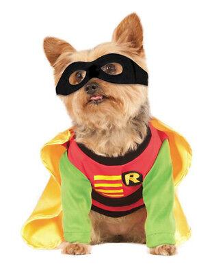 Robin DC Comics Pet Dog Costume, Small, Neck to Tail 11