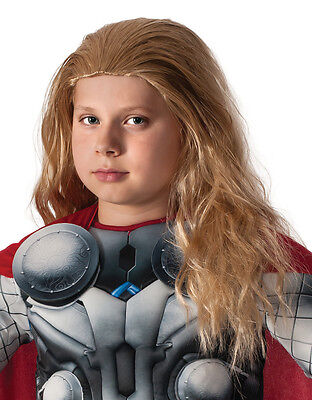 Thor Wig, Kids Avengers Age Of Ultron Costume Accessory