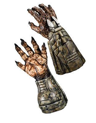 Alien Hand Kostüme (Alien v Predator Costume Accessory, Mens Predator Hands)