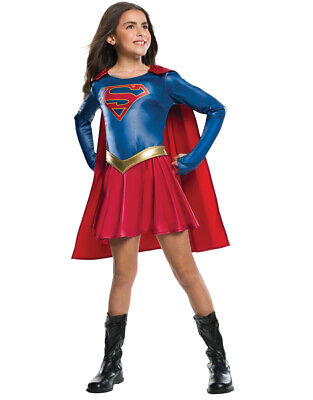 Kids Supergirl TV Show Costume M Age 5-7 - Supergirl Show Kostüm