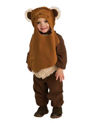 Star Wars Kids Ewok Costume,Toddler, 1-2 years,HEIGHT 2' 11